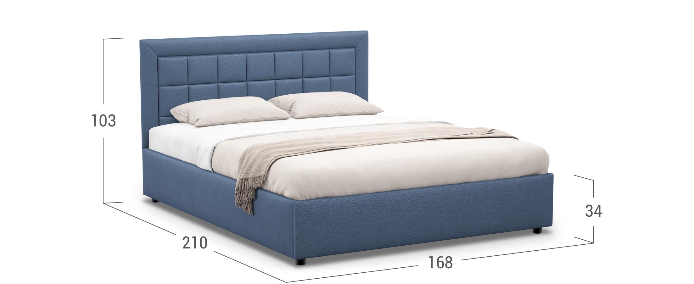 Кровать двуспальная Noemi New 160х200 Модель 1222